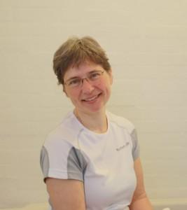 Marianne Rømer i sit kliniklokale.
